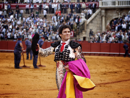Garrido corta la única oreja en Sevilla