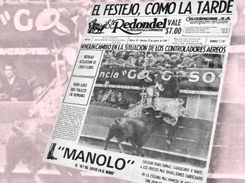 Historias: Efemérides taurinas mexicanas
