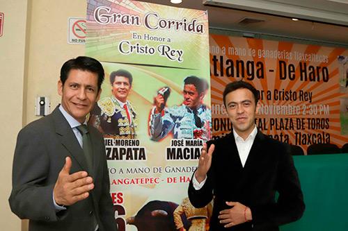 El Zapata y Macías, mano a mano en Zapata