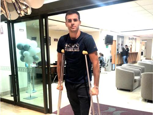 Sergio Recuero recibe alta hospitalaria