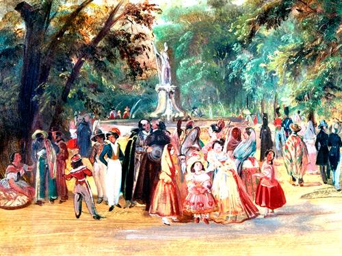 Historias: Ambiente taurino en 1831