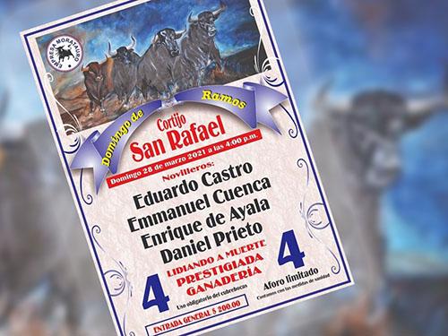 """Anuncian novillada en cortijo """"San Rafael"""""""