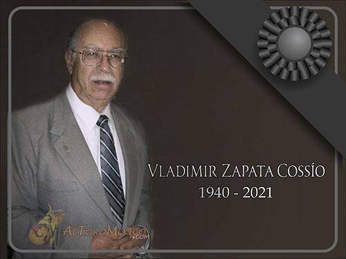 Fallece el doctor Vladimir Zapata