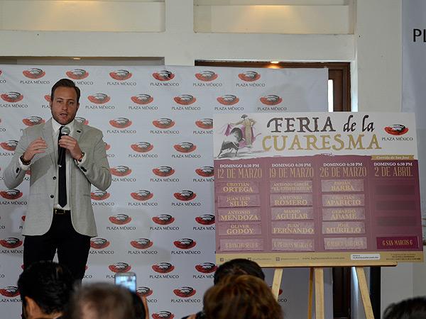Anuncian la Feria de la Cuaresma en La México