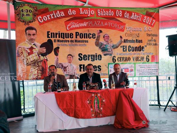 Presentan cartel plaza Caliente de Tijuana