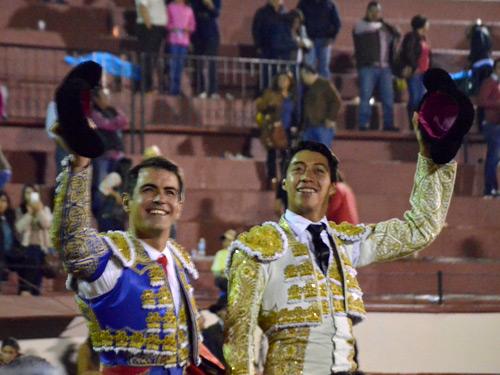 Arturo y Sergio, primeros nombres en Texcoco