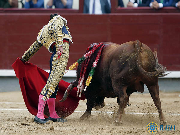 Deslucida tarde de toros en Madrid