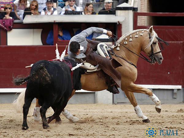 Sergio Galán destaca en Las Ventas