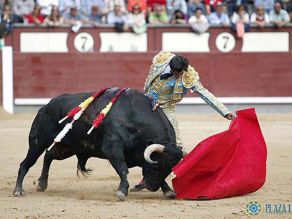 Curro Díaz realiza lo mejor en Madrid