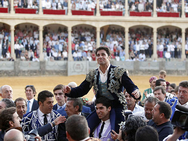 Emotiva despedida de Paquirri en Ronda