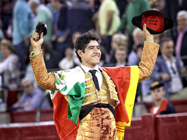 Luis David corta una oreja en Zaragoza