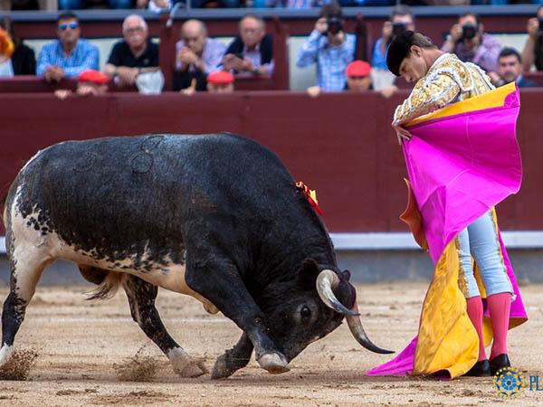 Bautista saluda la única ovación en Madrid