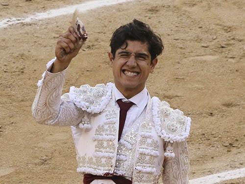 Carismático triunfo de Luis David en Madrid