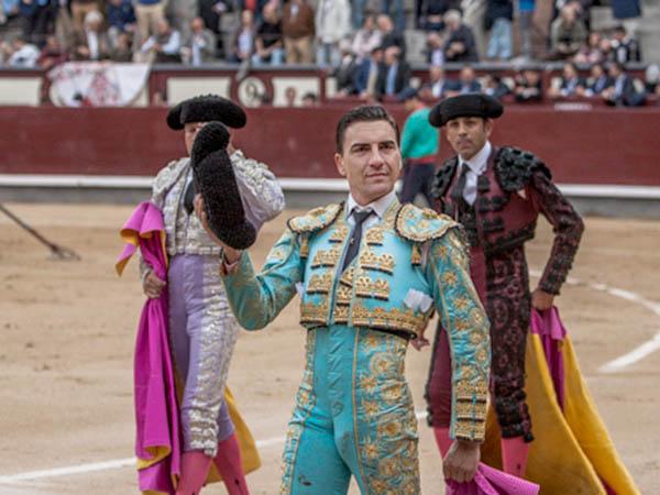 Octavio Chacón da una vuelta en Madrid