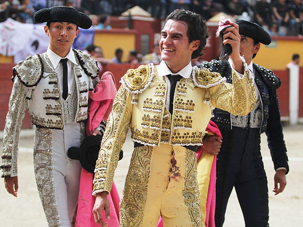 Sánchez corta una oreja en Tlaxcala