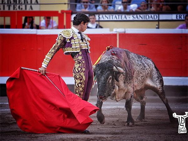 Luis David corta una oreja en Bilbao