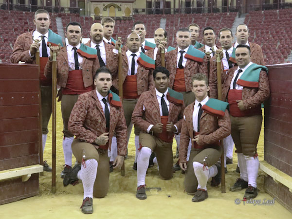 Forcados de Turlock realizaron gira en Europa