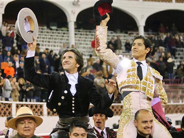 Diego y Luis David, a hombros en QRO