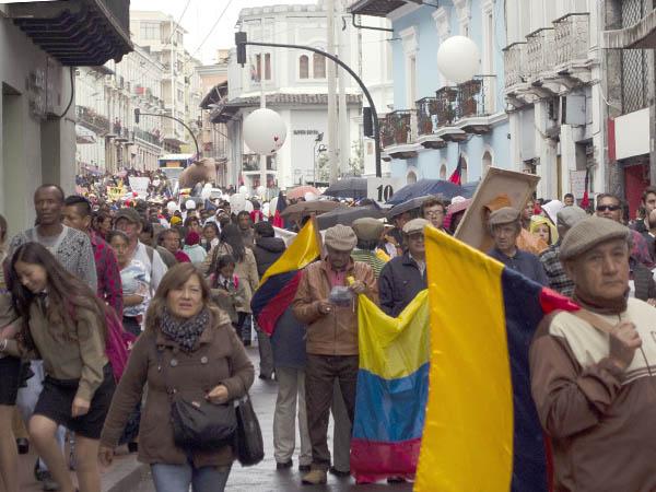 La Marcha por la Libertad fue una fiesta popular