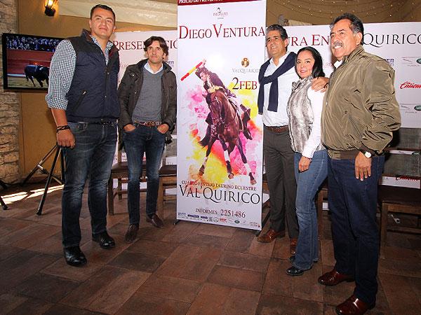 Diego Ventura presenta su cuadra en Val Quirico