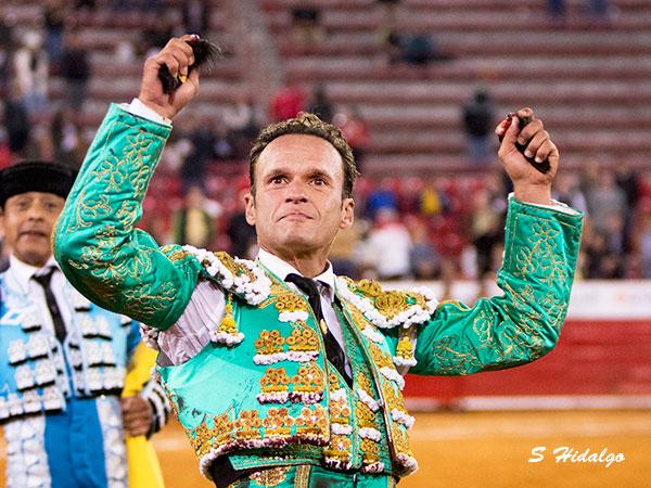 Antonio Ferrera se consagra en La México