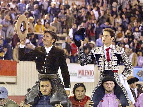 Ventura y Saldívar triunfan en Moroleón