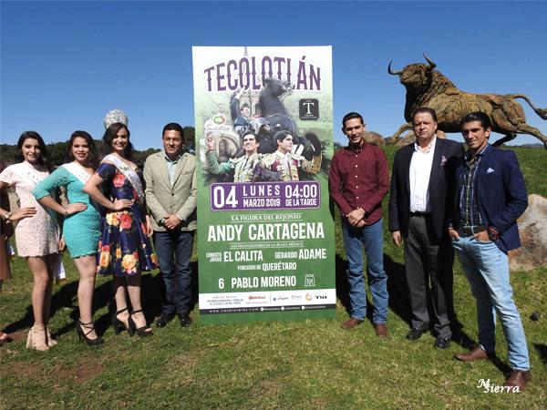 Casa Toreros presenta la corrida de Tecolotlán