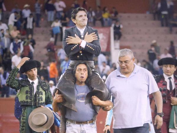 Diego Ventura triunfa en San Luis Potosí