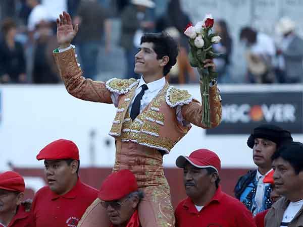 Vibrante triunfo de Luis David en Ambato