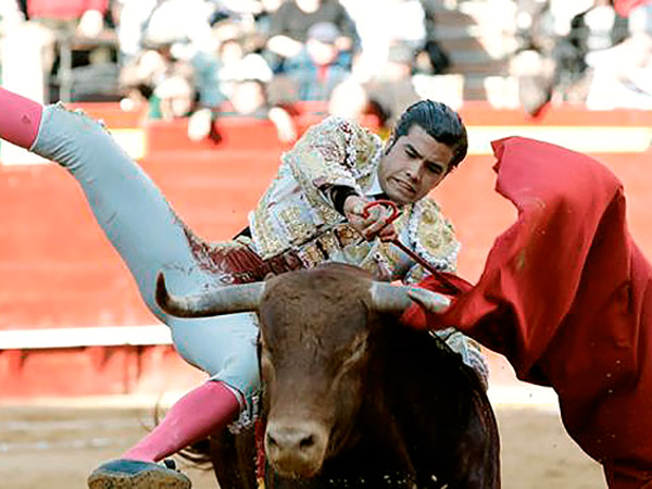 Diego San Román cae herido en Valencia