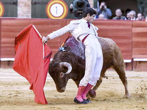 Luis David da una vuelta en Valencia