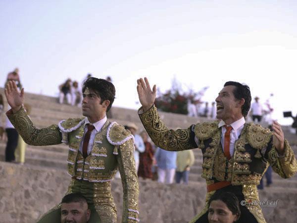 Jerónimo y Fermín, a hombros en L.A.Cetto