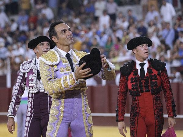 El Cid da una vuelta en Málaga
