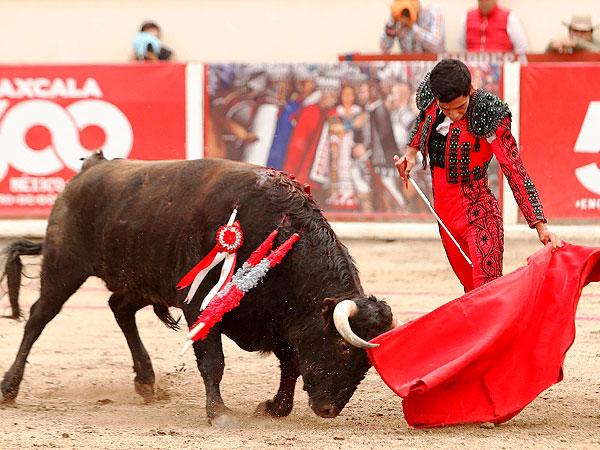 Emilio Macías da una vuelta en Tlaxcala