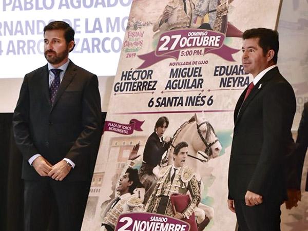 Pablo Aguado debutará en calaveras