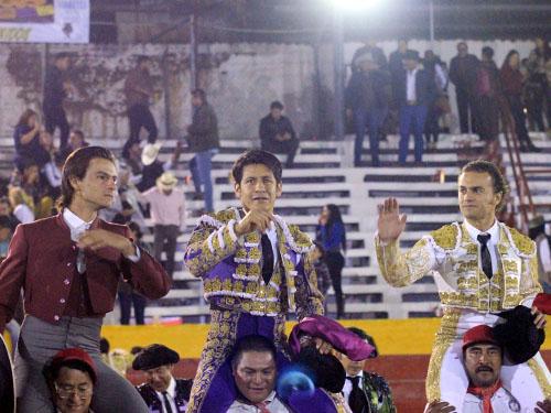 Tarde triunfal en Ciudad Hidalgo
