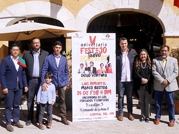 Darán festejo ecuestre en Val Quirico