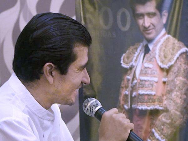 Interesante encuentro con Joselito en Mérida