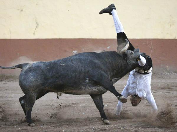 """El toro me pegó dos cornadas"": Sergio Recuero"