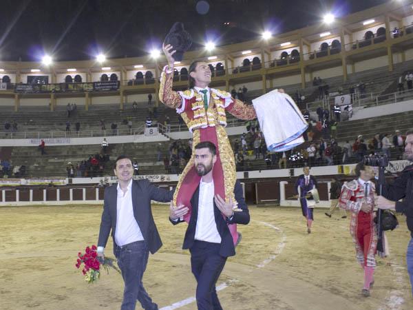 José Arcila sale a hombros en Bogotá