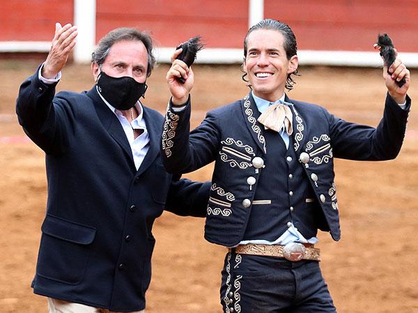 Diego triunfa en el homenaje a Piedras Negras