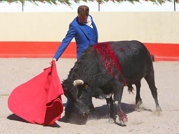 Arturo Saldívar torea en su aniversario