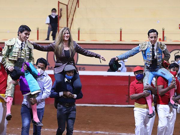 Ortega y De Alejandría sorprenden en Huamantla