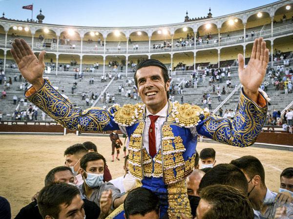 Emilio de Justo se consagra en Madrid