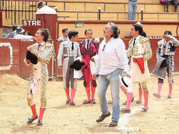 Palomo y Soriano cortan una oreja en Tlaxcala
