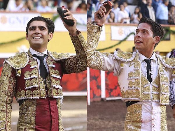 Adame y Pastor triunfan en Aguascalientes