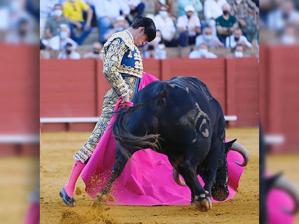 Luque sigue en el ánimo del público de Sevilla