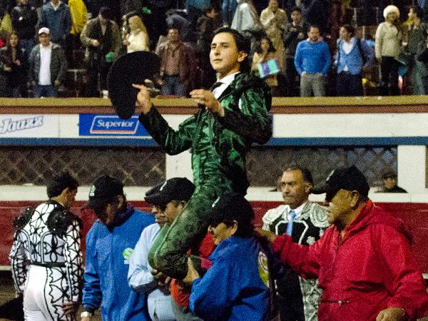 La inolvidable noche de Roca Rey en Quito