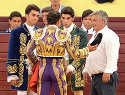 Ferrera y los Moura se brindan en Lisboa