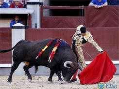 Gran faena de Talavante en Madrid